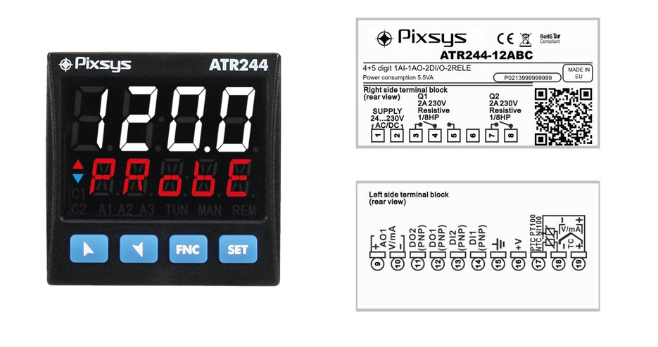 ATR244 Advance temperature controller
