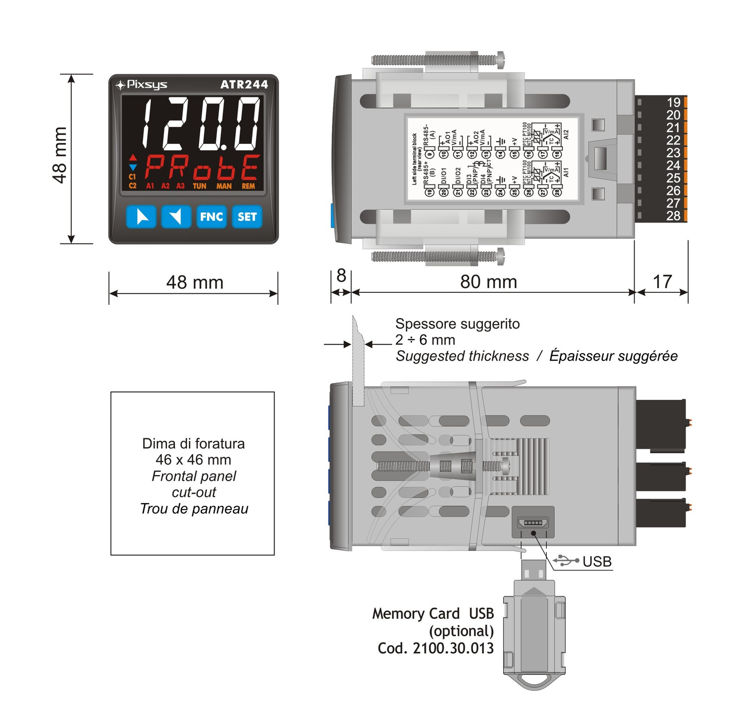 Limit controller or Kiln controller
